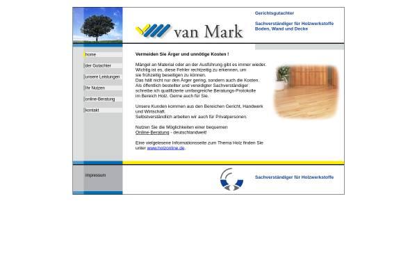 Vorschau von www.gutachten-holz.de, Van Mark, Lothar