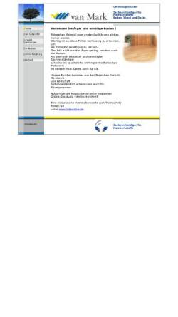Vorschau der mobilen Webseite www.gutachten-holz.de, Van Mark, Lothar