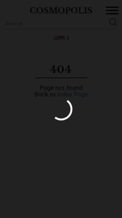 Vorschau der mobilen Webseite www.cosmopolis.ch, Cosmopolis: Quentin Tarantino