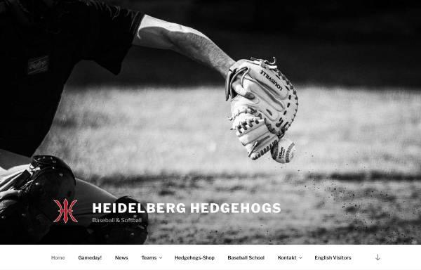 Vorschau von www.heidelberg-hedgehogs.de, Heidelberg Hedgehogs
