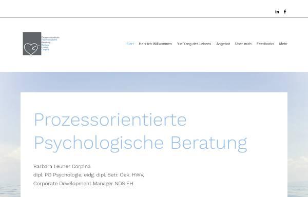 Vorschau von www.blu-beratung.ch, BLU - Barbara Leuner Unternehmensentwicklung