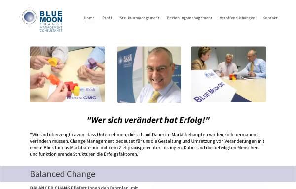 Vorschau von www.bluemoon-cmc.de, Blue Moon Change Management Consultants GmbH