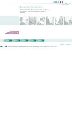 Vorschau der mobilen Webseite ra-born.com, Change - Management Beratung Rechtsanwältin Monika Born