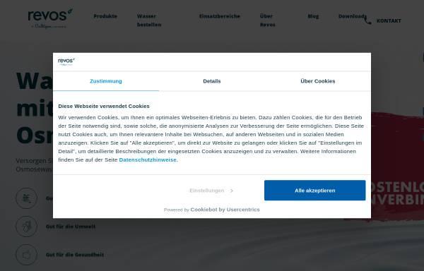 Vorschau von revos.de, Revos watercooler GmbH