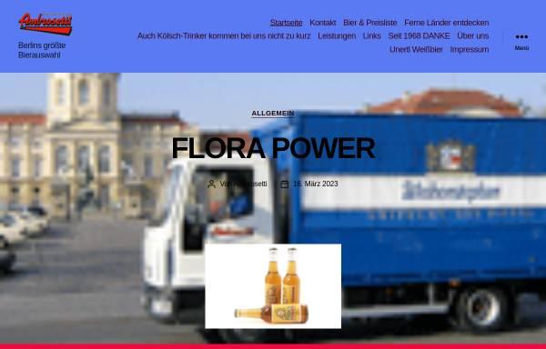 Vorschau von www.bierauswahl.de, Ambrosetti - Berlins grosse Bierauswahl
