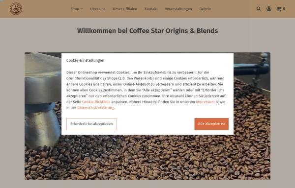 Vorschau von www.coffeestar.net, Coffee Star Kaffeerösterei Berlin