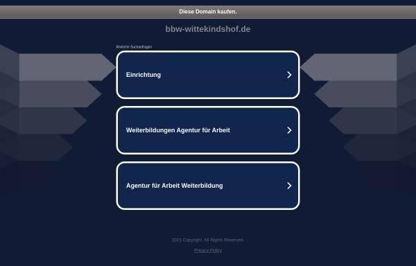 Vorschau von www.bbw-wittekindshof.de, BBW - Wittekindshof | Berufsbildungswerk Bad Oeynhausen