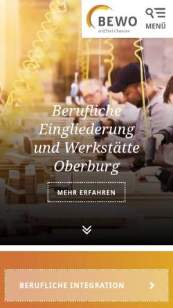Vorschau der mobilen Webseite www.bewo.ch, Bewo