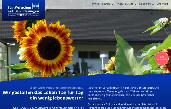 Vorschau von www.frauenheim-wengern.de, Frauenheim Wengern