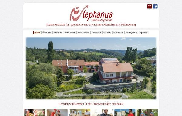 Vorschau von www.tageswerkstaette-stephanus.at, Tageswerkstätte Stephanus
