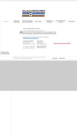 Vorschau der mobilen Webseite www.ingenieurdienst-spezialtiefbau.de, Krentz, Martin