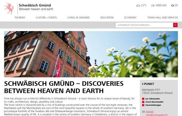 Vorschau von www.schwaebisch-gmuend.de, Stadt Schwäbisch Gmünd