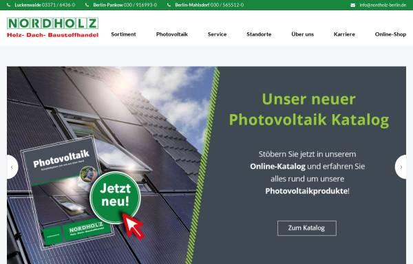 Vorschau von www.nordholz-berlin.de, HFM Nordholz Handelsgesellschaft mbH