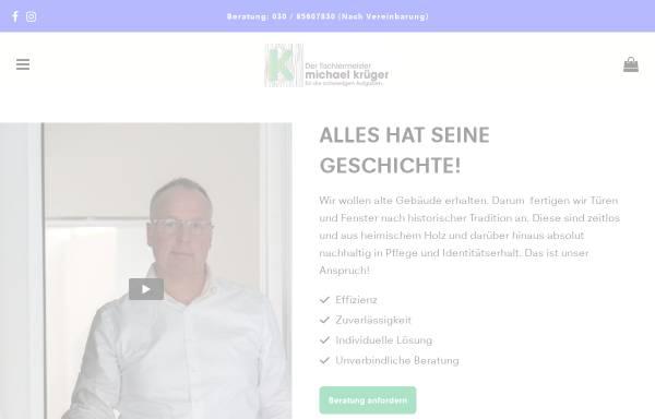 Vorschau von www.historische-bauelemente.de, Krüger Bauelemente