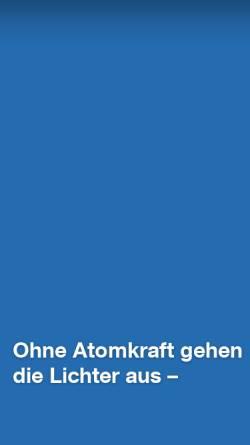 Vorschau der mobilen Webseite www.ews-schoenau.de, Elektrizitätswerke Schönau GmbH, EWS