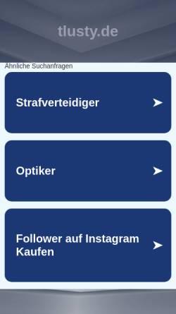 Vorschau der mobilen Webseite www.tlusty.de, Ultralauf