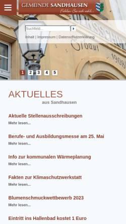 Wo Liegt Sandhausen