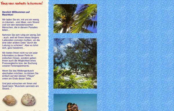 Vorschau von www.yougi.de, Ferienwohnungen am Meer, Point d'Esny