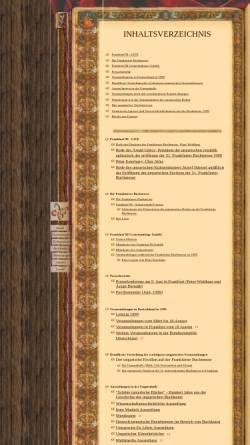 Vorschau der mobilen Webseite www.frankfurt.matav.hu, Frankfurter Buchmesse 1999 - Schwerpunkt Ungarn