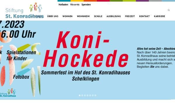 Vorschau von www.st.konradihaus.de, Jugendhilfeeinrichtung St. Konradihaus