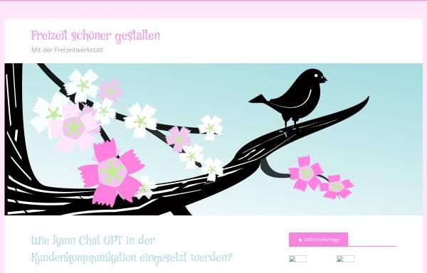 Vorschau von www.freizeitwerkstatt.de, Die Freizeitwerkstatt
