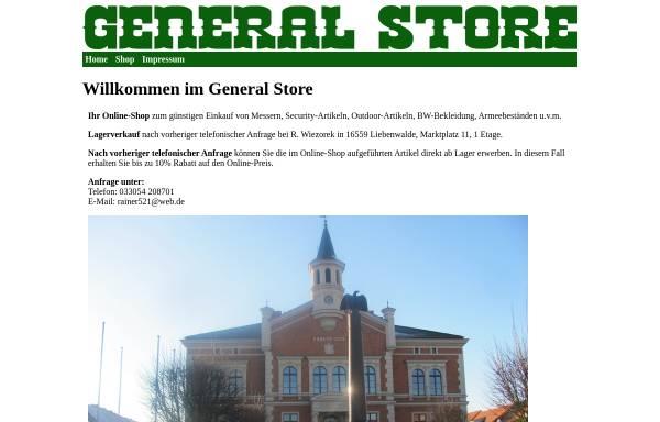 Vorschau von www.general-store.de, General Store
