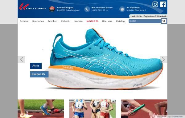 Vorschau von www.lang-und-lauf.de, Lang & Laufladen Sportartikel GmbH