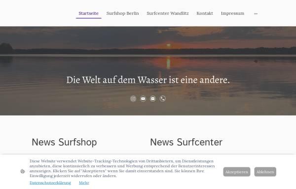 Vorschau von www.surfshop-berlin.de, Surf Shop Berlin