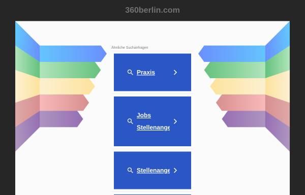 Vorschau von www.360berlin.com, Trendsportfachgeschäft 360°
