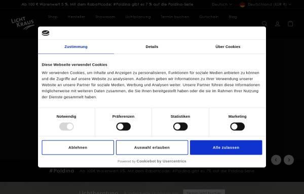 Vorschau von www.licht-kraus.de, Licht Kraus