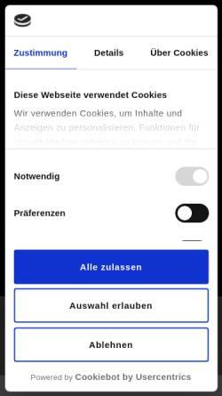 Vorschau der mobilen Webseite www.licht-kraus.de, Licht Kraus