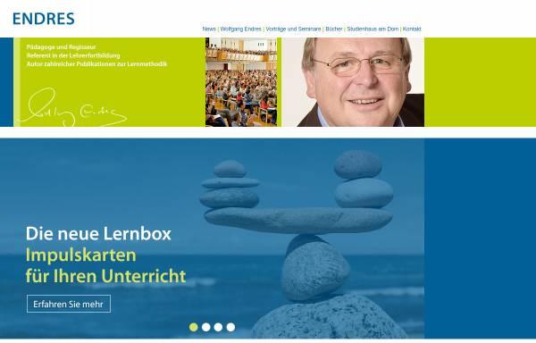 Vorschau von www.endres.de, Endres Ferienkurse