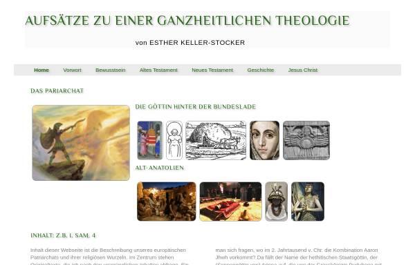 Vorschau von www.theologie-vision.eu, Keller, Esther