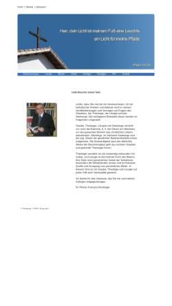 Vorschau der mobilen Webseite www.f-reckinger.de, Reckinger, Francois