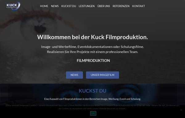 Vorschau von www.hochzeitsfilmen.de, Kuck Filmproduktion, Inh. Lars Kuck
