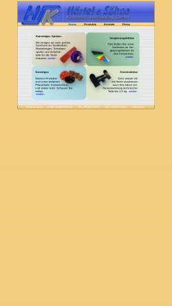 Vorschau der mobilen Webseite www.hsknet.biz, Härtel & Söhne Kunststoffverarbeitung GmbH