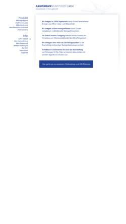Vorschau der mobilen Webseite www.kampmeier.de, Kampmeier Kunststoff GmbH