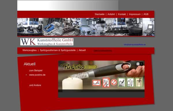 Vorschau von www.wk-kunststoffteile.de, WK Kunststoffteile GmbH