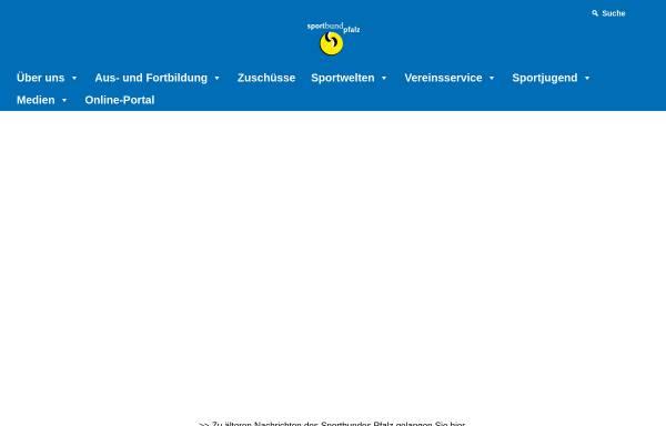 Vorschau von www.sportbund.de, Sportbund Pfalz
