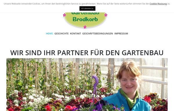 Vorschau von www.gaertnerei-zwenkau-leipzig.de, Gärtnerei Brodkorb