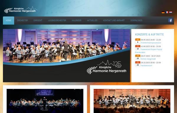 Vorschau von www.harmonie-hergenrath.be, Kgl. Harmonie Hergenrath
