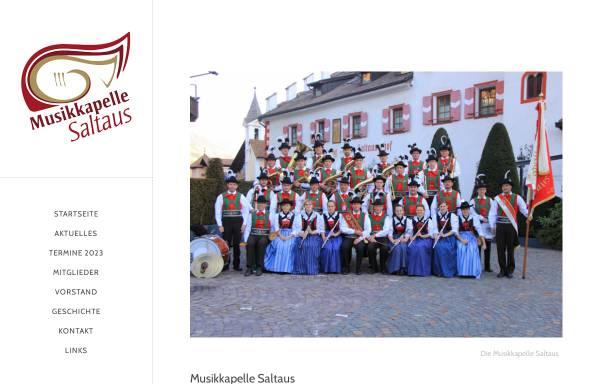 Vorschau von musikkapelle.it, Musikkapelle Saltaus