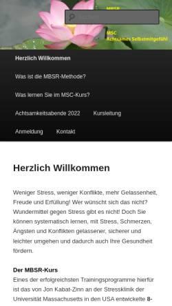 Vorschau der mobilen Webseite www.onken.ch, Institut Onken