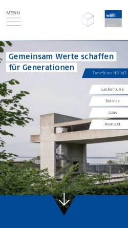 Vorschau der mobilen Webseite www.ipg.ch, IPG Keller AG