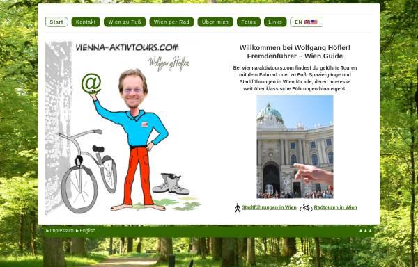 Vorschau von www.vienna-aktivtours.com, Vienna Aktivtours