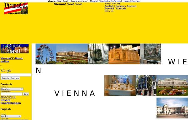 Vorschau von www.vienna.cc, Vienna! See! See!
