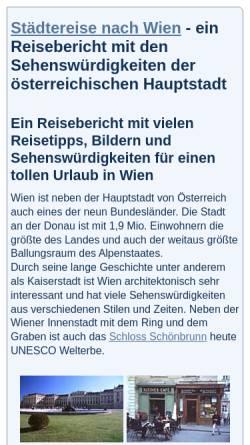 Vorschau der mobilen Webseite astrosoft.de, Wien - Die Kulturstadt in Österreich