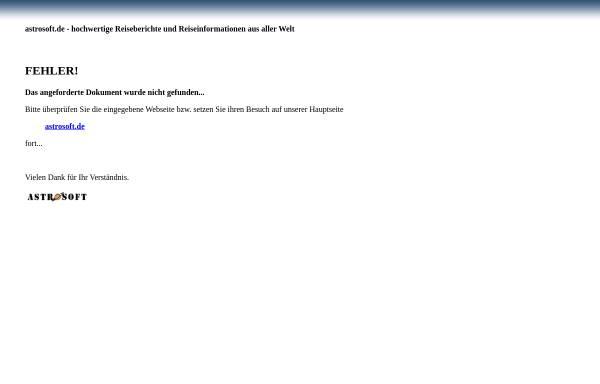 Vorschau von astrosoft.de, Wien - Kultur in Österreich