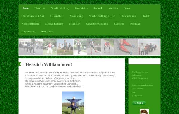 Vorschau von www.pro-nordicwalking.de, Juliane Kummer