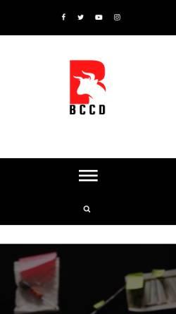 Vorschau der mobilen Webseite bccd-ev.de, Bearded Collie Club Deutschland e.V.